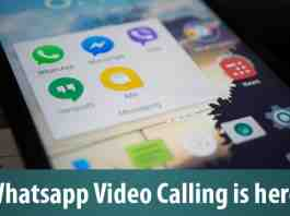 Whatsapp Video Calling is here!
