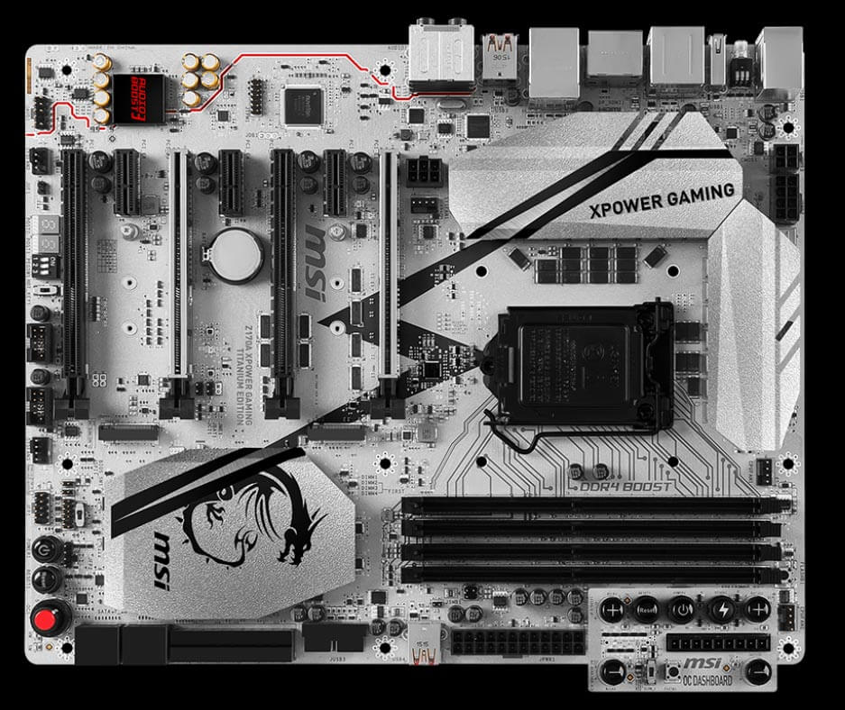 MSI Z170A XPower Gaming Titanium Edition Review - Best Gaming Motherboard for i7 6700k