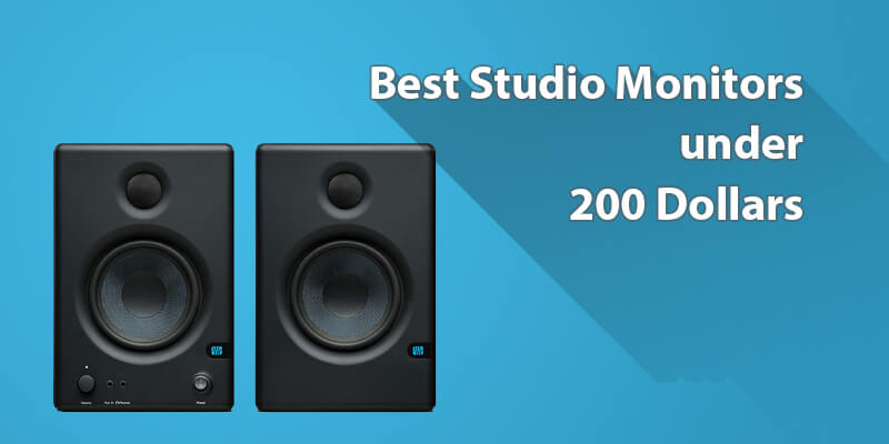 5 Best Studio Monitors under 200 Dollars to get Online!