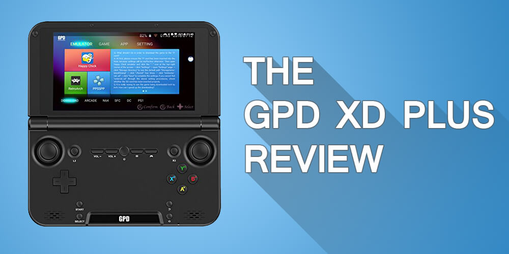 GPD XD Plus Review - Build