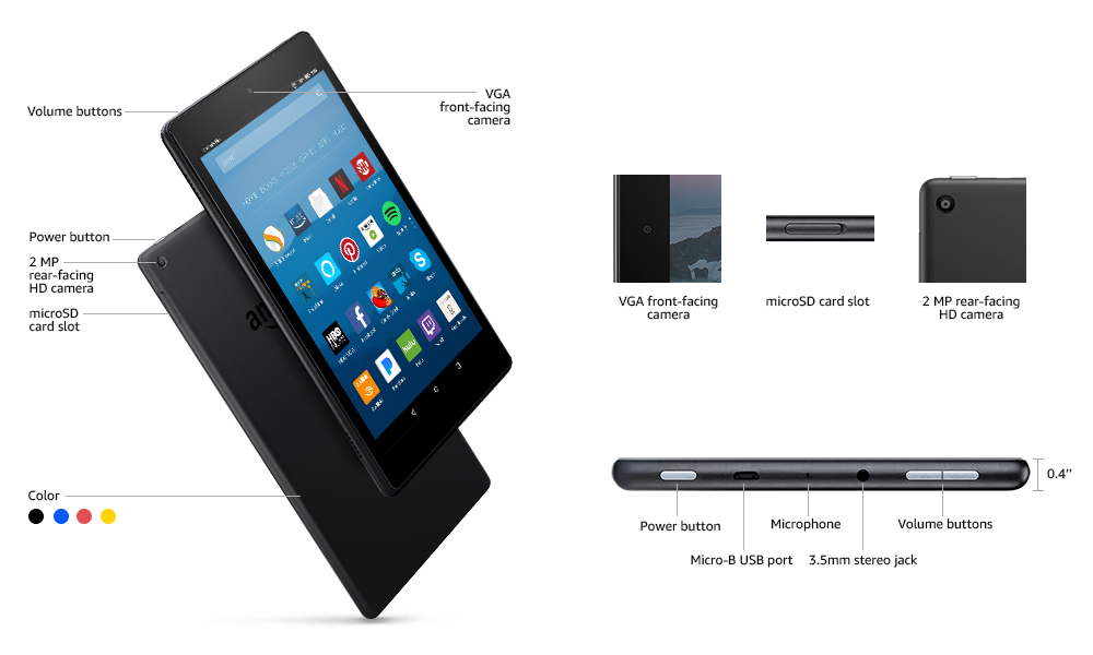 Amazon Fire HD 8 Review Best Tablets under 100 Dollars