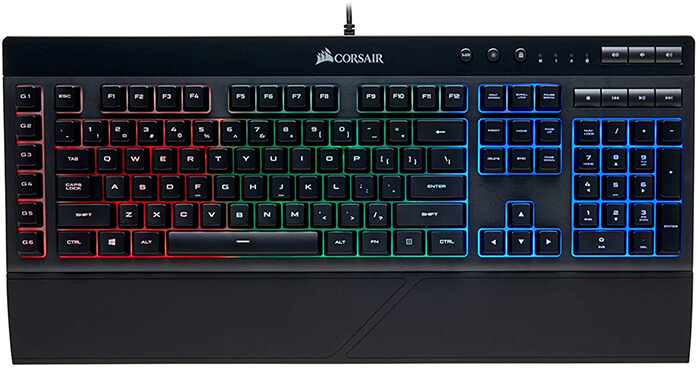 Corsair K55 Review - One of the Best Gaming Keyboards under 50 Dollars!