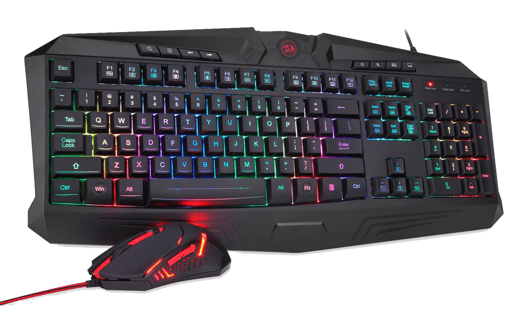 Redragon S101 Combo Review - Best Gaming Keyboard under 50 Dollars!
