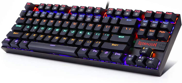 Redragon K552-R KUMARA Review - Best Gaming Keyboard under 50 Dollars!