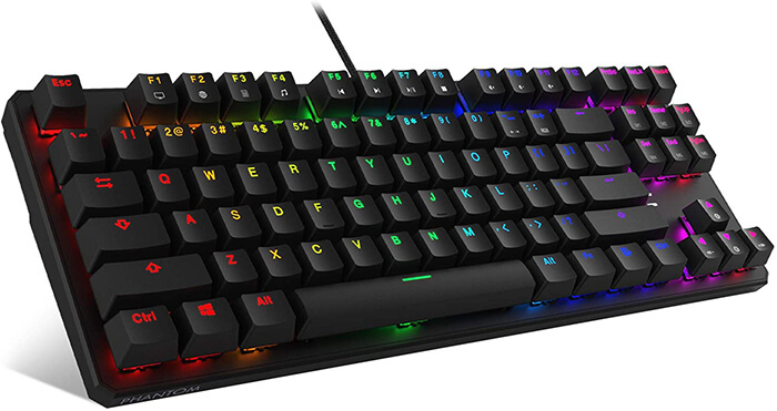 Tecware Phantom 87 Review - One of the Best Gaming Keyboards under $50 on the market!