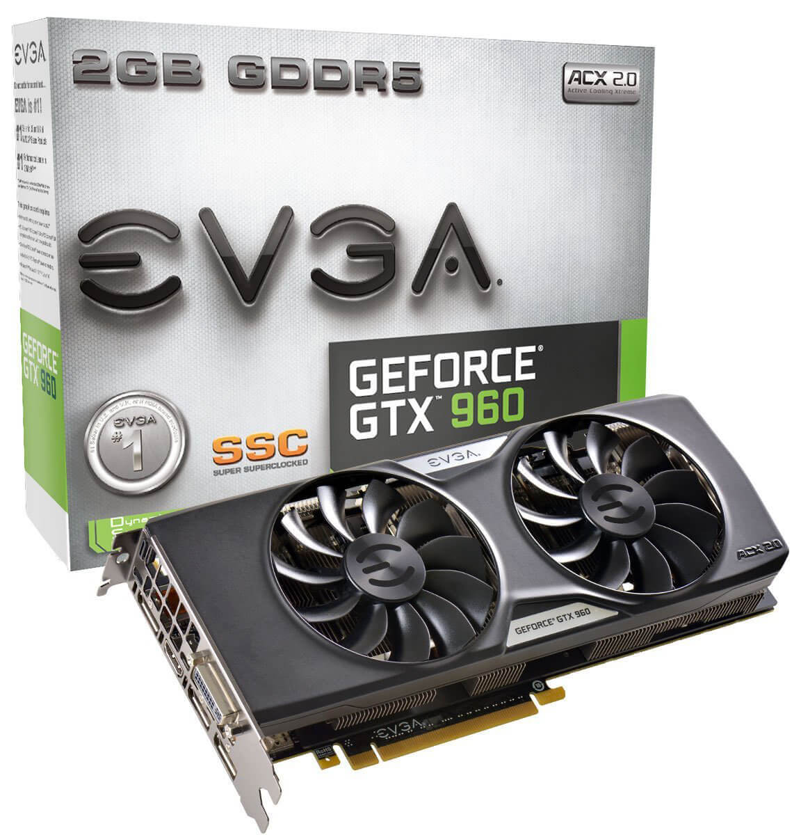 EVGA GeForce GTX 960 SSC Review - Best Graphics Card under 200 Dollars