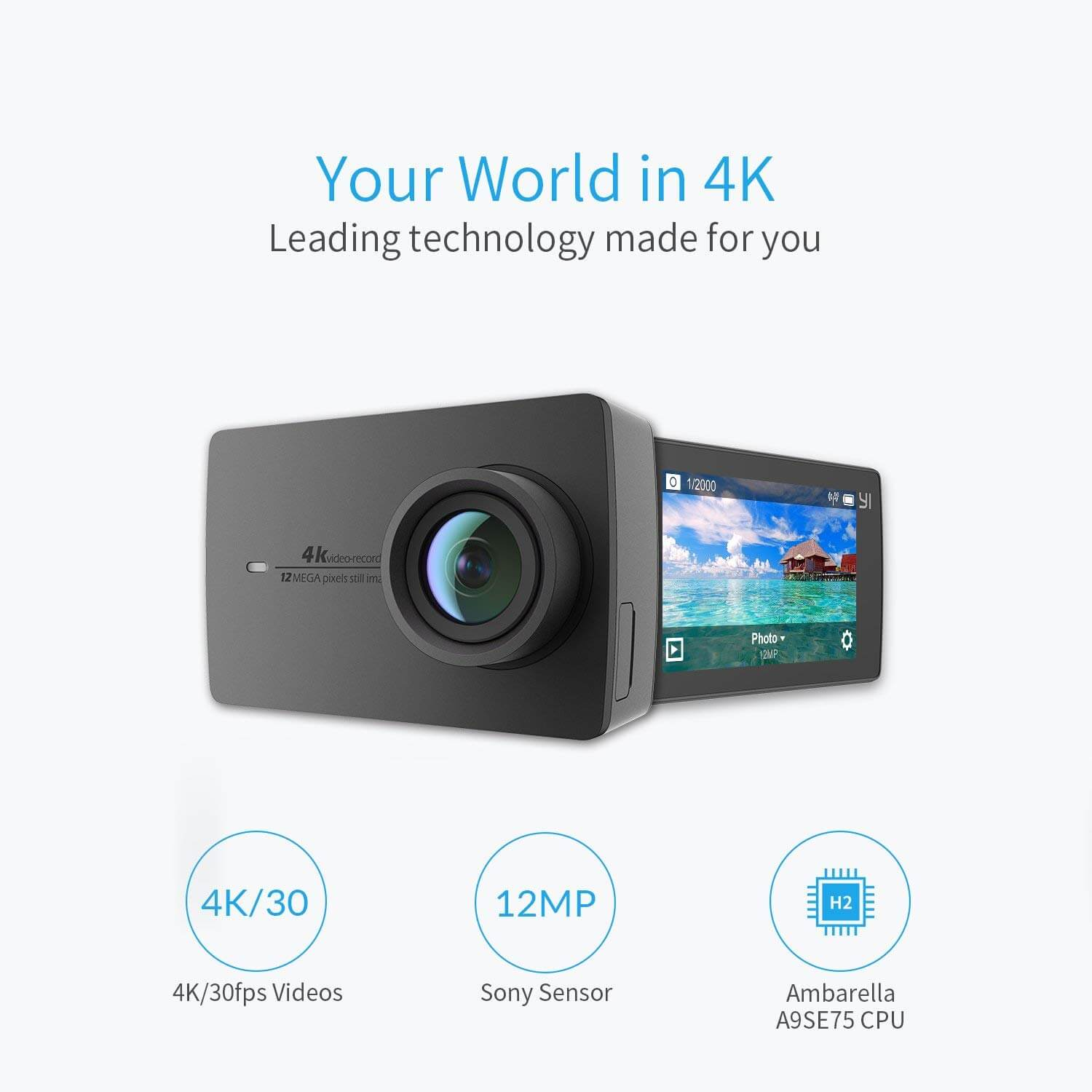 YI 4K Action Camera Review - Best Vlogging Camera under 200 Dollars!