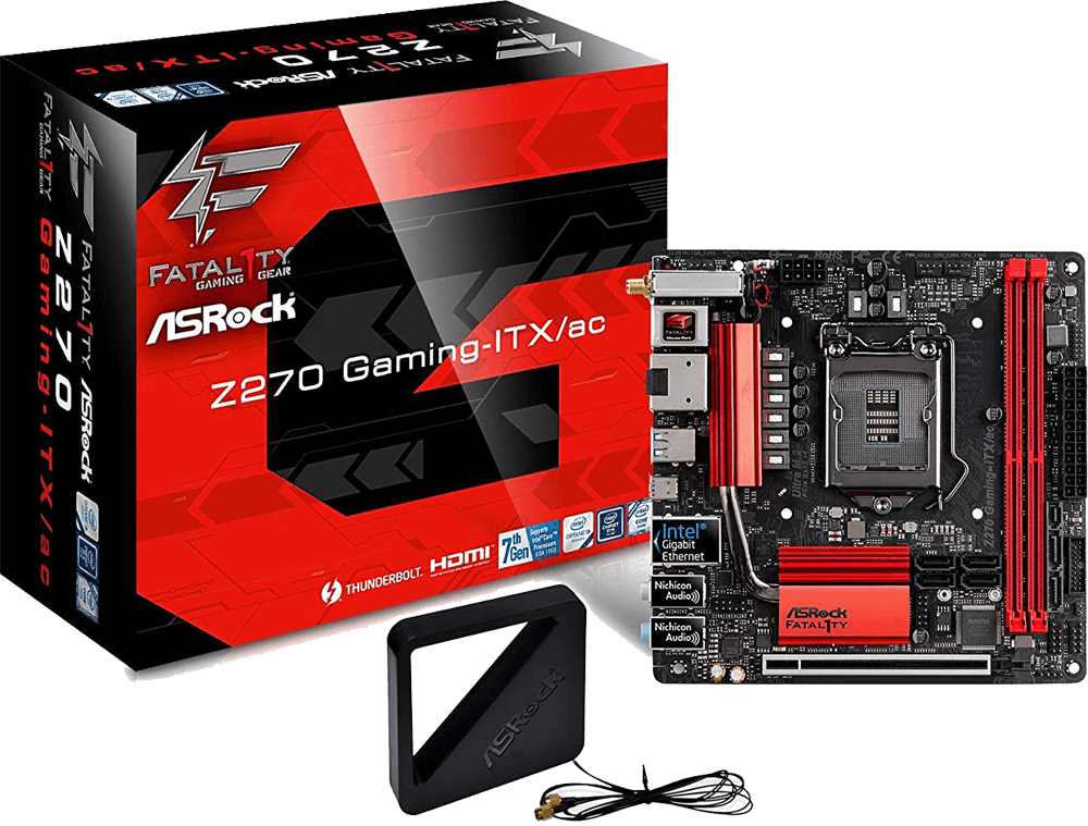 ASRock Fatal1ty Z270 Gaming-ITX/ac Review - Best Motherboard for i7 7700k