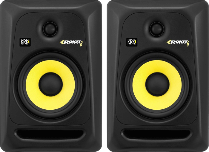 KRK RP6G3-NA Rokit 6 Review - Best Studio Monitors under 500 Bucks!