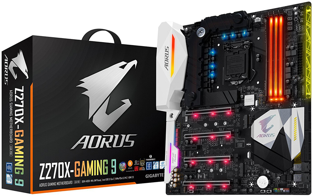 Gigabyte GA-Z270X-Gaming 9 Review - Best Mobo for i7-7700k