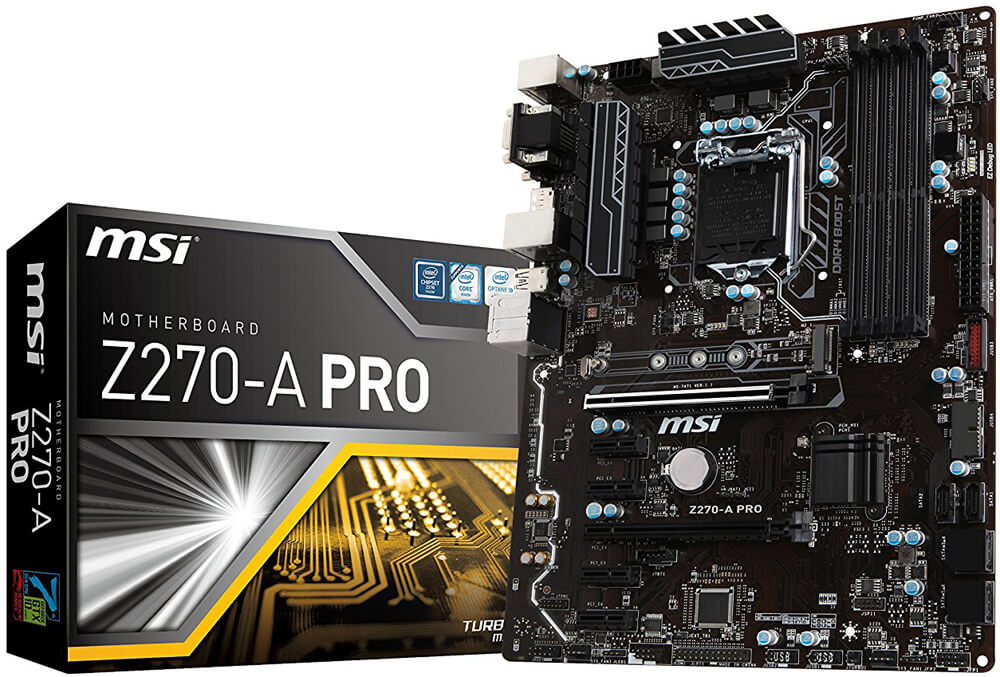 MSI Z270-A PRO Review - Best Value Motherboard for i7-7700k