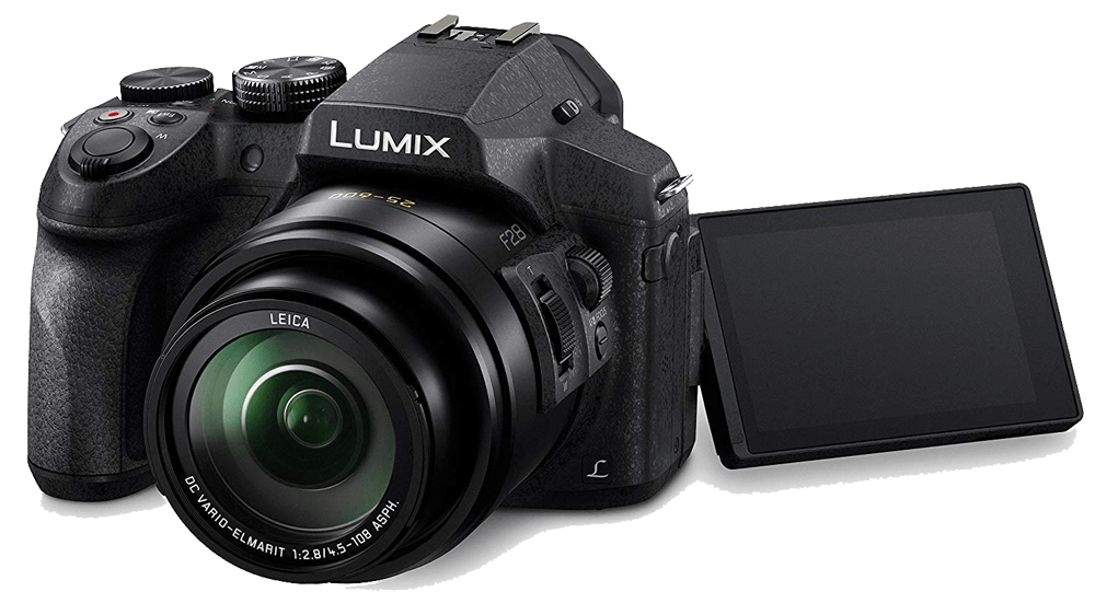 Panasonic LUMIX FZ300 Review - Best Camera for Vlogging with Flip Screen