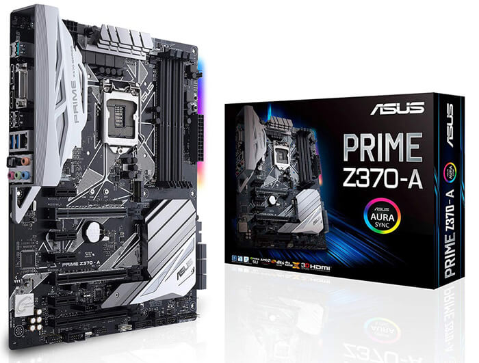 ASUS Prime Z370 A ATX Review - Best Motherboard for i5 8600k