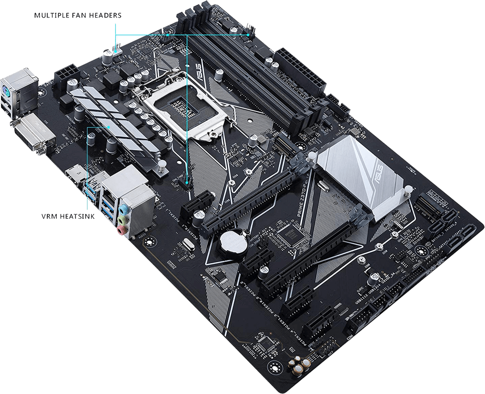 Best Motherboard for i5 8400 - Asus Prime Z370-P Review
