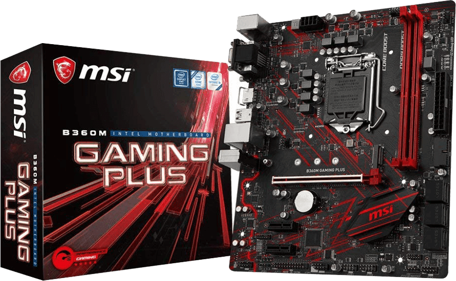 Best Motherboard for i5 8400 under Budget - MSI B360M Gaming Plus Review