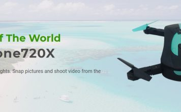 Drone 720x Review - Best Portable Selfie Drone in 2019?