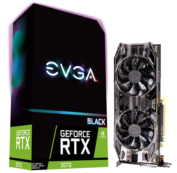 EVGA GeForce RTX 2070 Black Review