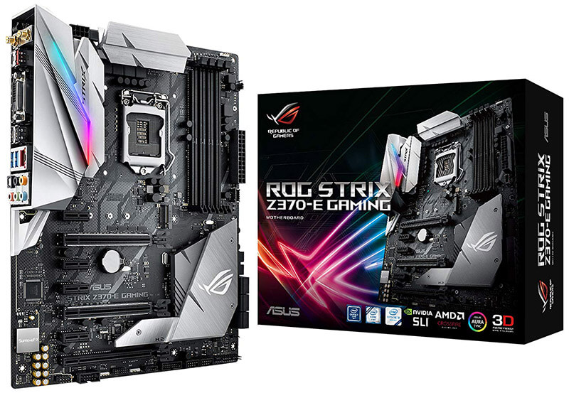 ASUS ROG STRIX Z370-E GAMING Review - Best Motherboard for i7-8700k