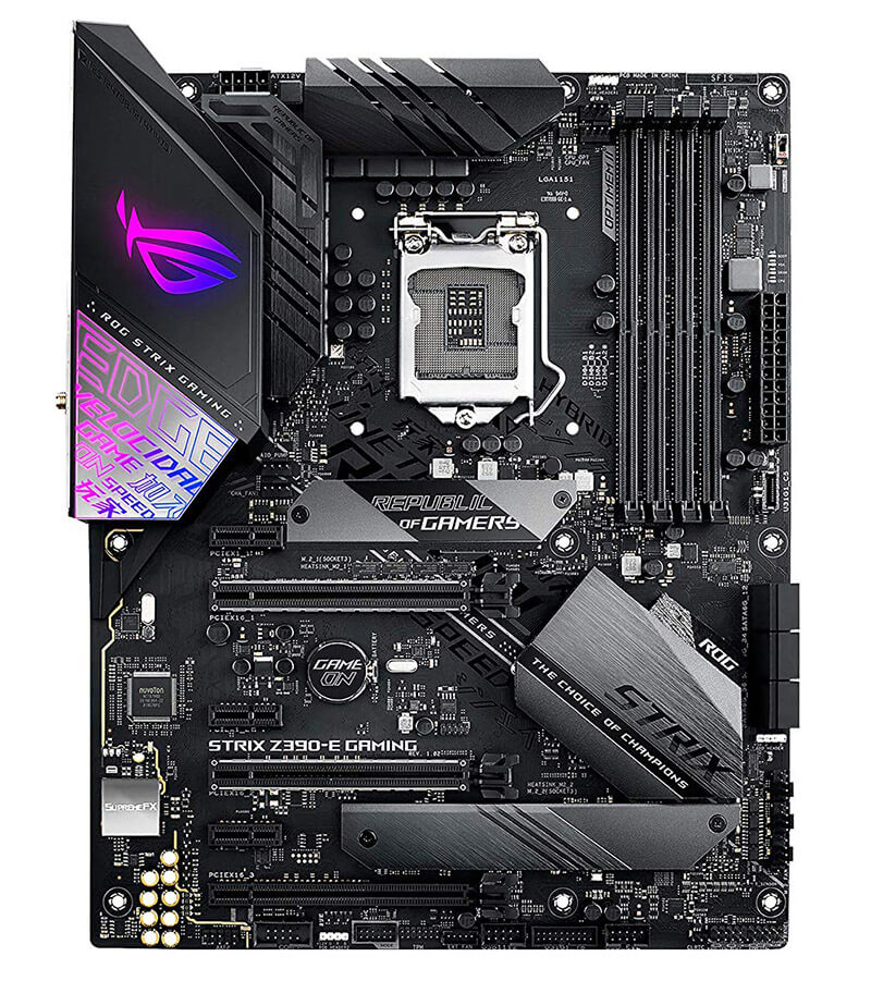 ASUS ROG STRIX Z390 E GAMING Review - Best Z390 Motherboard for i7 8700k