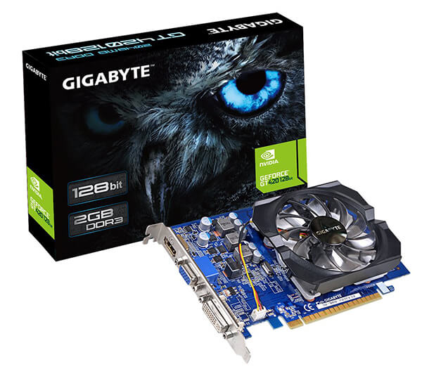 Gigabyte GT420 2GB Review - Best Graphics Card under 50 Dollars!