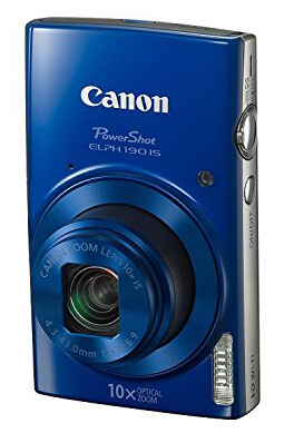 Canon Powershot ELPH 190 Review - Cheapest Vlogging Cameras in 2019