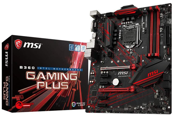 MSI B360 Gaming Plus Review - Best Motherboards for i3 8100