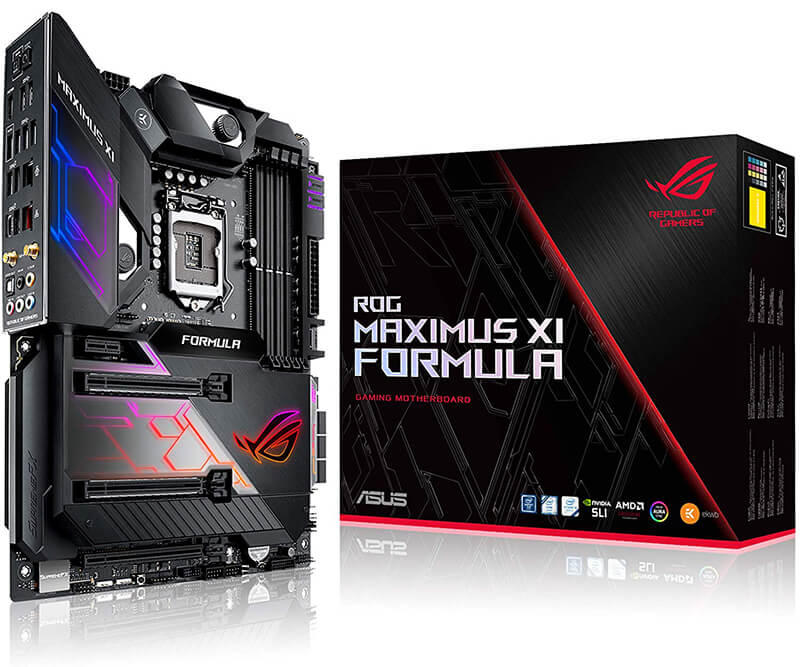 ASUS ROG Maximus XI Formula Review - Best Motherboard for i9 9900k!