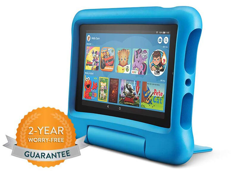 Amazon Fire 7 Kids Edition Review - Best Android Tablet under $100!