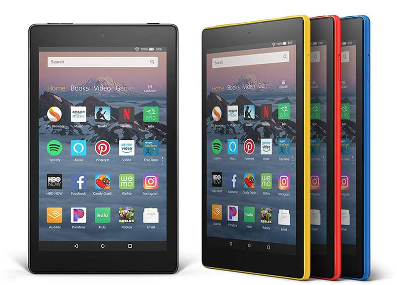 Amazon Fire HD 8 Review - Best Android Tablet under 100 Bucks!