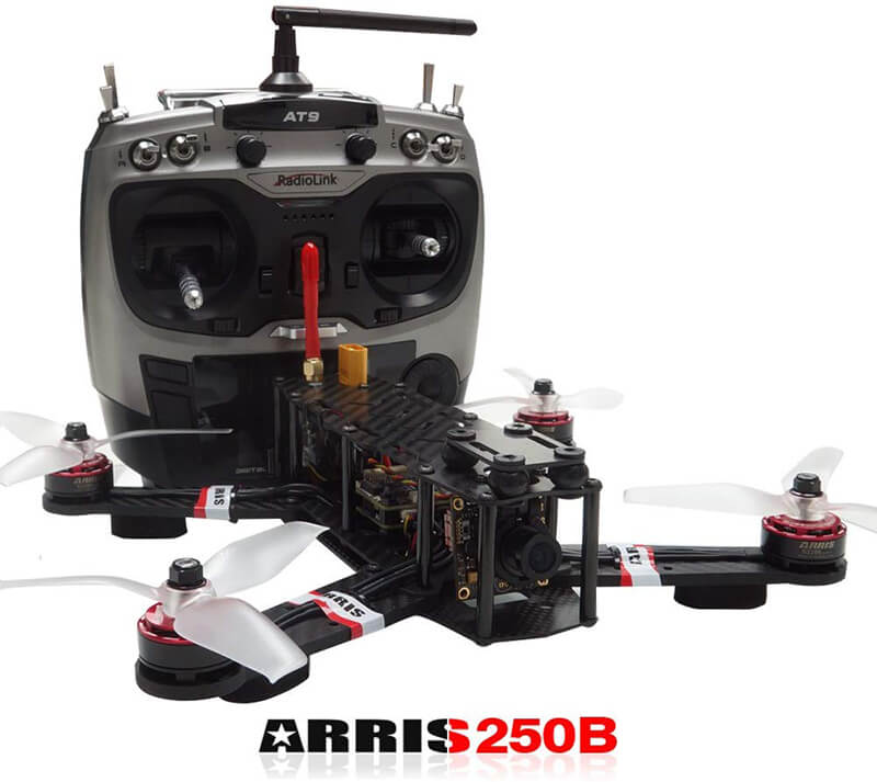 Arris X-Speed 250B Review - Best Racing Drone under Budget!
