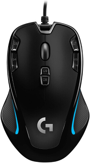 Logitech G300S Optical Gaming Mouse Review