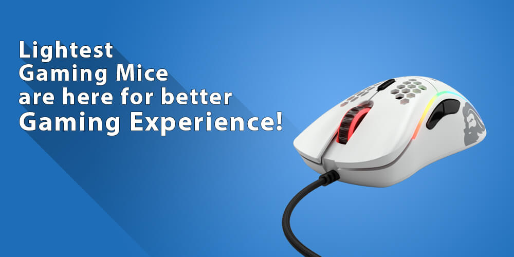8 of the Lightest Gaming Mice on the Internet!