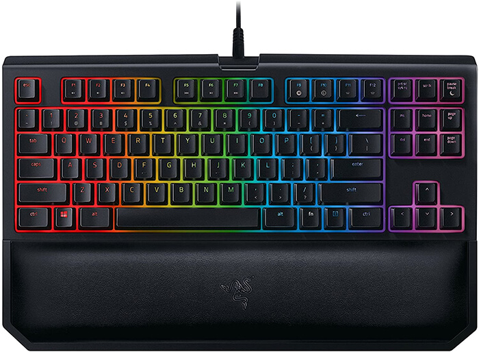 Razer Blackwidow TE Chroma V2 Review - One of the Best Keyboards for Overwatch!
