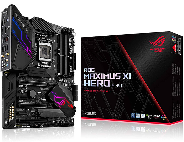 ASUS ROG Maximus XI Hero Review - One of the Best Motherboards for i7-9700k!