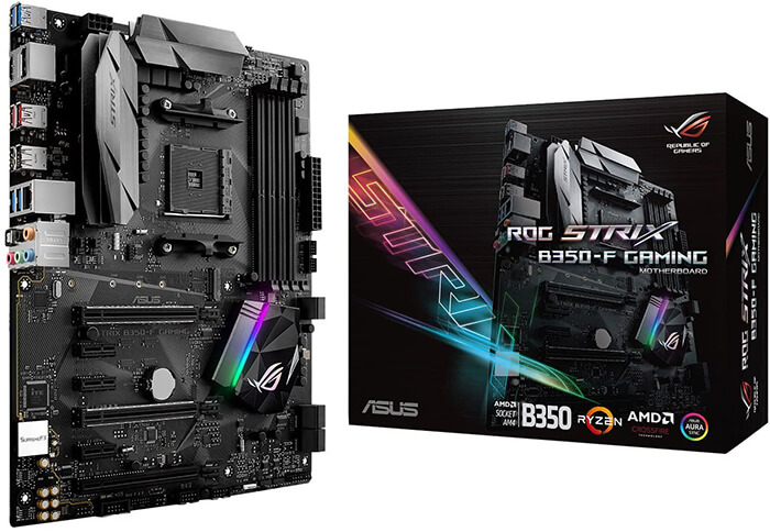 ASUS ROG Strix B350-F Review - Best Gaming Motherboard for Ryzen 7 2700x!