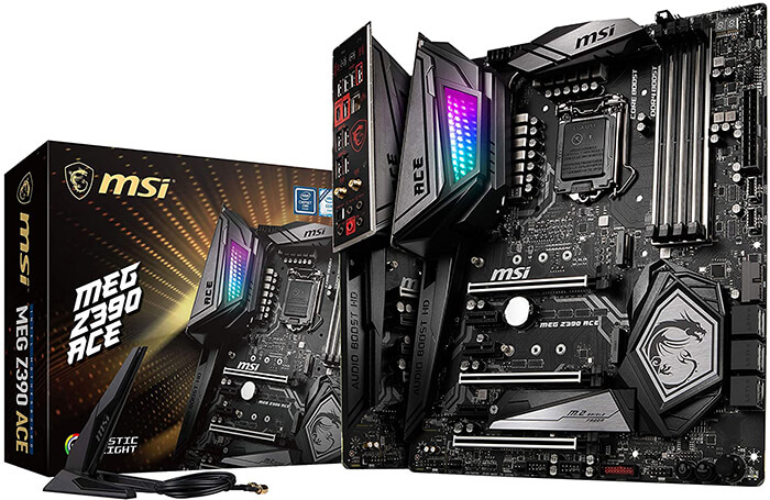 MSI MEG Z390 Ace Review - Best Gaming Motherboard for i7 9700k!