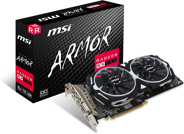 MSI RX 580 Armor 8G OC Review