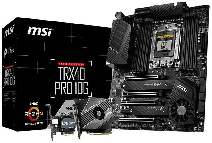 MSI TRX40 Pro 10G Review - Best Motherboard for Ryzen 5 3600!