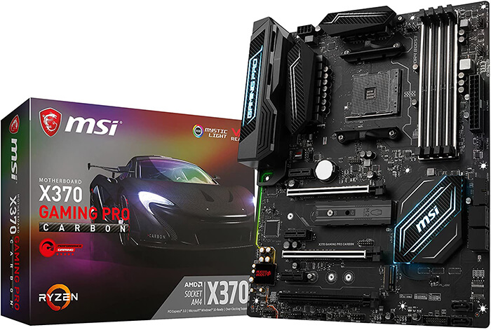 MSI X370 Pro Carbon Review - Best Ryzen 7 2700x Gaming Motherboard!