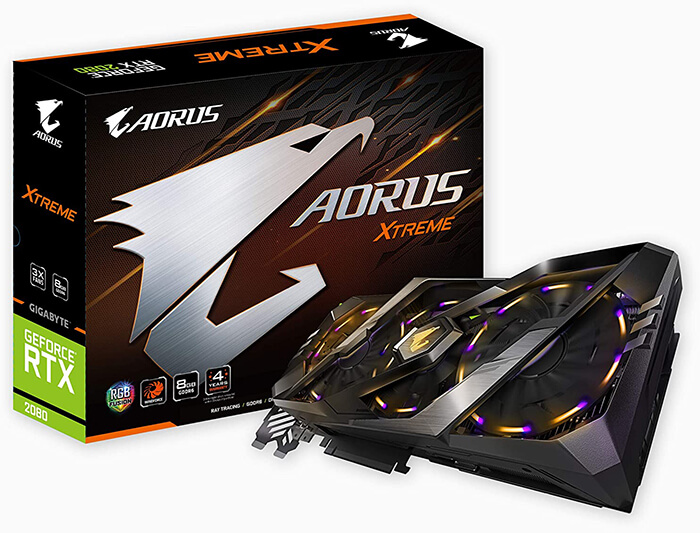 Gigabyte Aorus GeForce RTX 2080 Xtreme Review - Best GPU for i7-9700k!