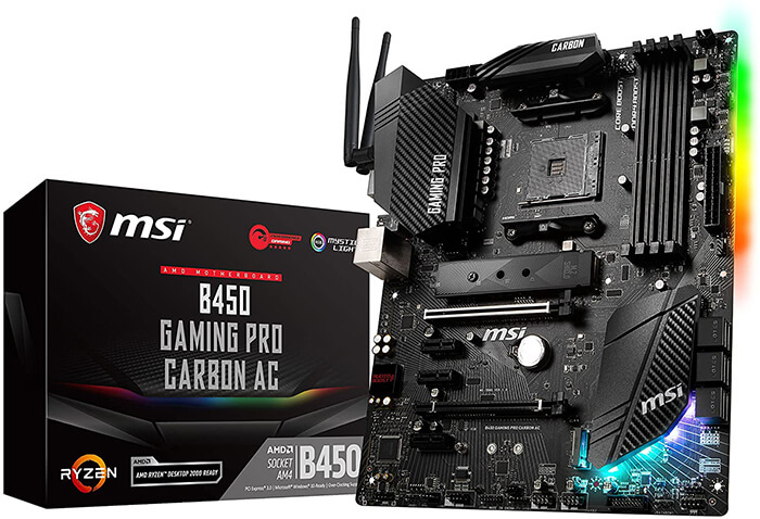 MSI B450 Gaming Pro Carbon AC Review - Best Gaming Motherboard for Ryzen 5 2400g!