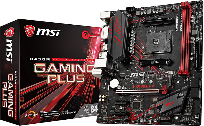 MSI B450M Gaming Plus Review - Best Gaming Motherboard for Ryzen 3 2200g!