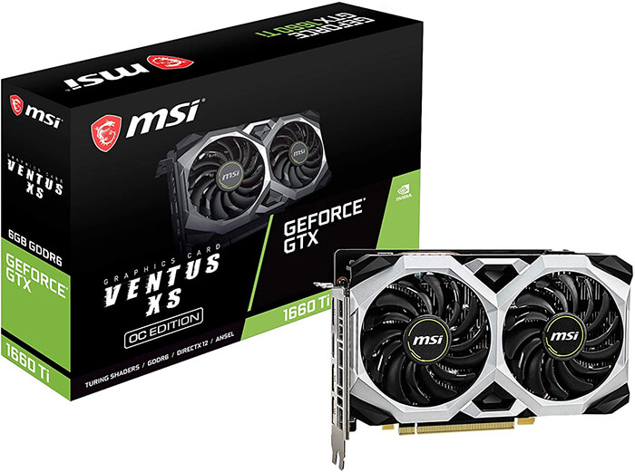 MSI GTX 1660 Ti Ventus Review - Cheapest Graphics Card for i7 9700k!