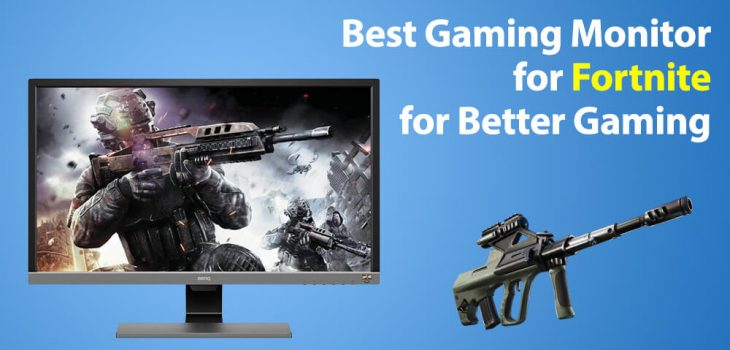 Best Monitor for Fortnite for Gaming