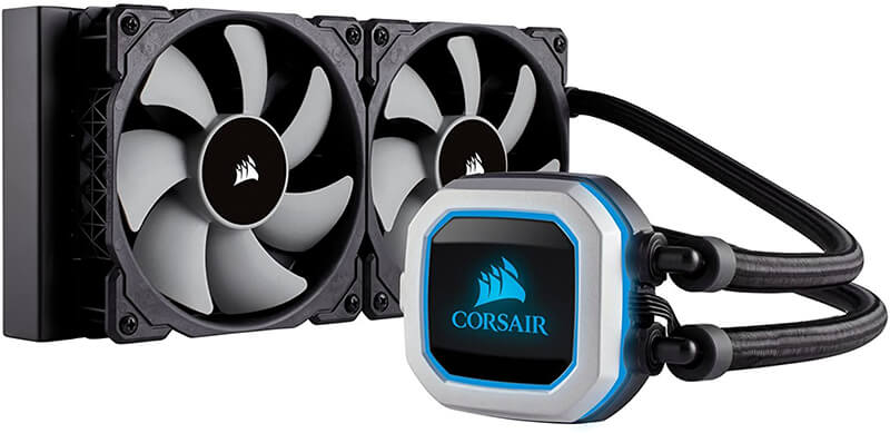 Corsair Hydro H100I Pro Review - Best Air Cooler for i7 9700k!