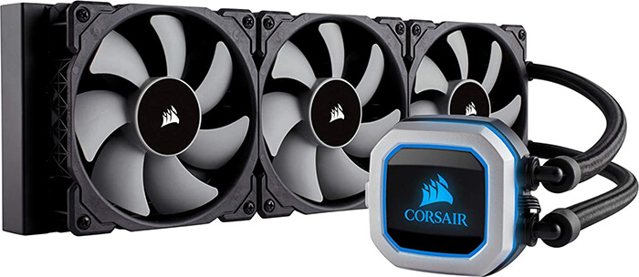 Corsair Hydro H150i Pro Review - Best Air Cooler for i7 8700k!