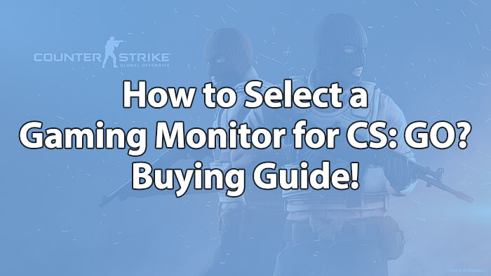 Gaming Monitor Buying Guide - How to Select the Best CS GO Monitor?