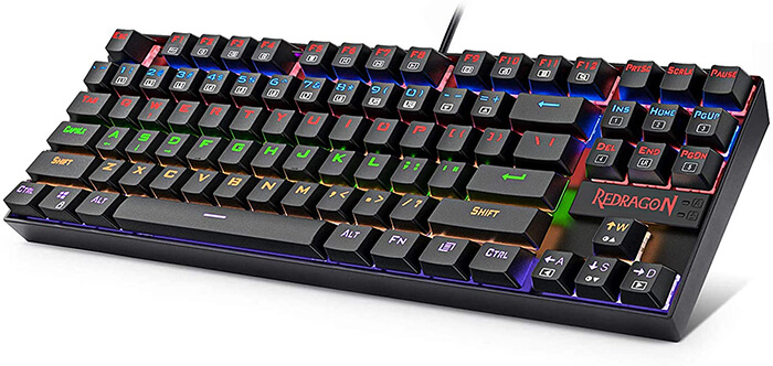 Redragon K552 Review - Cheapest Gaming Keyboard for Apex Legends!