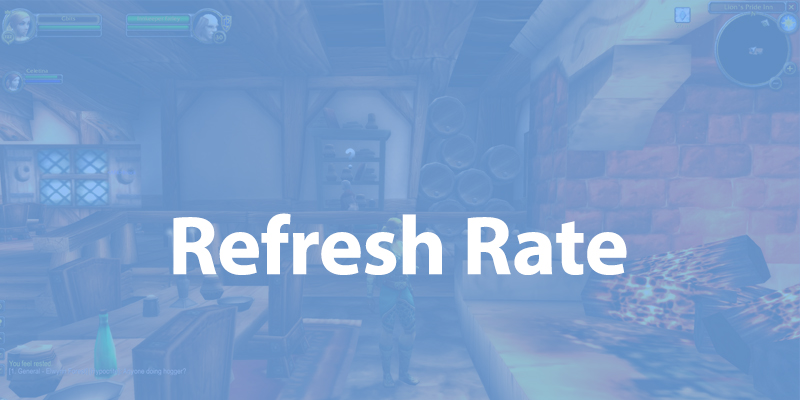 World of Warcraft - Monitor Refresh Rate