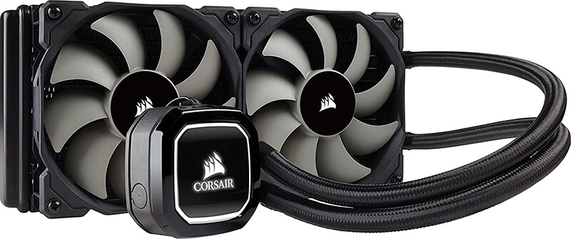 Corsair Hydro H100 Review - Quiet Air Cooler for CPU!